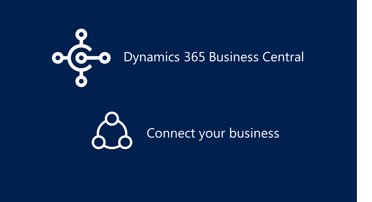 microsoft dynamics 365 - connect your business logo